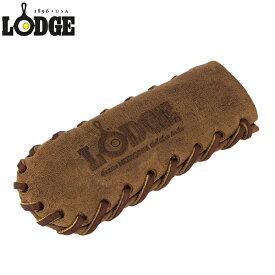 【あす楽】ロッジ Lodge Nokona レザー ハンドルホルダー スパイラル ALHHSS85 Nokona Leather Handle Mitt Coffee キッチン スキレット ハンドルカバー 鍋つかみ【5%還元】