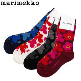 【5%還元】【あす楽】マリメッコ Marimekko 靴下 ウニッコ ソックス Hieta おしゃれ 花柄 くつ下 039859 Unikko socks cont ss13 プレゼント ギフト