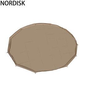 【全品あす楽】NORDISK ノルディスク アルヘイム12.6用フロアシート (ジップインフロア) ナチュラル 146012 テント キャンプ アウトドア 北欧