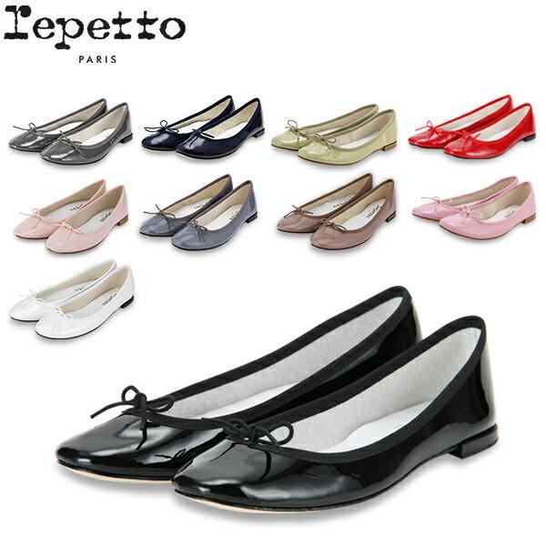 【GWもあす楽】 レペット Repetto バレエシューズ サンドリヨン エナメル V086V MYTHIQUE FEMME CENDRILLON フラットシューズ レディース 革靴 かわいい レザー パテント 母の日 母の日ギフト