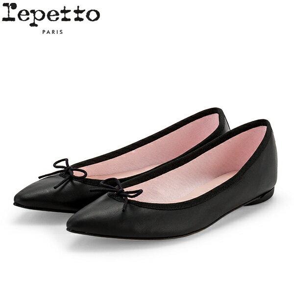 【GWもあす楽】 レペット Repetto バレエシューズ ブリジット レザー V1556VE BRIGITTE フラットシューズ レディース 革靴 かわいい ポインテッドトゥ COTILLON 母の日 母の日ギフト