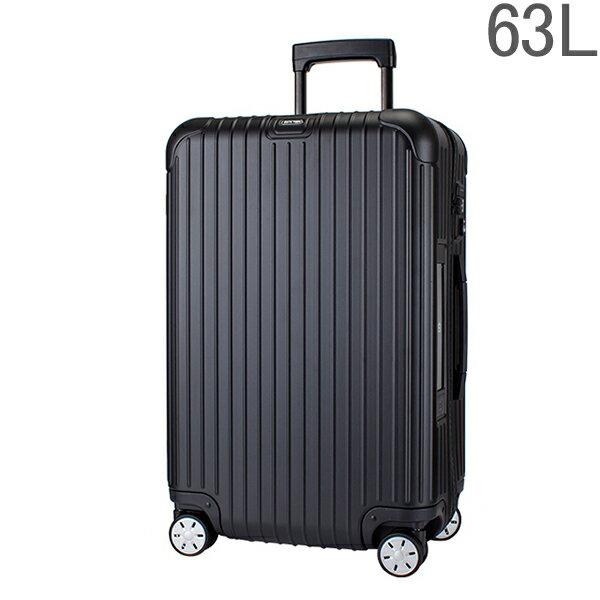 リモワ RIMOWAサルサ 811.63.32.5 マルチホイール 4輪 スーツケース ブラック MULTIWHEEL 63L 電子タグ 【E-Tag】