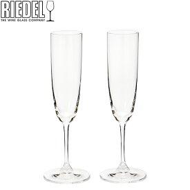 Riedel リーデル ワイングラス 2個セット ヴィノム Vinum シャンパーニュ Champagne Glass 6416/8 あす楽