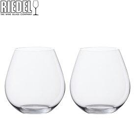 Riedel リーデル ワイングラス/タンブラー 2個セット オーワインタンブラー The O wine Tumbler ピノ・ノワール/ネッビオーロ Pinot / Nebbiolo 0414/07 あす楽