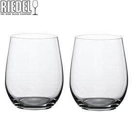 Riedel リーデル ワイングラス/タンブラー 2個セット オーワインタンブラー The O wine Tumbler ヴィオニエ/ シャルドネ Viognier / Chardonnay 414/5 あす楽
