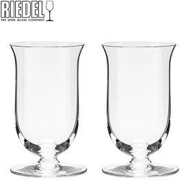 Riedel リーデル Vinum ヴィノム Single Malt Whiskey シングルモルト ウイスキーグラス 2個組 クリア (透明) 6416/80 あす楽
