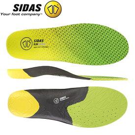 シダス Sidas インソール ラン 3D センス 立体形状 中敷き 軽量 衝撃吸収 ランニング ジョギング マラソン 315498000/CSE3DRUNSENS19 あす楽