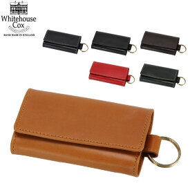 Whitehouse Cox ホワイトハウスコックス Keycase Size CLOSE 6.5 × 11.5cm OPEN 19.5 × 11.5cm S9692 キーケース 【コンビニ受取可】