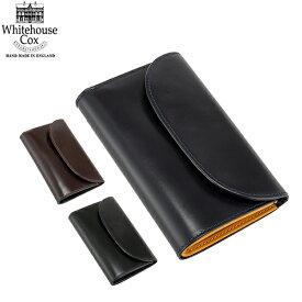 【エントリーで全品最大P7倍 3/1 23:59迄】ホワイトハウスコックス Whitehouse Cox 財布 三つ折り財布 小銭入れ付き ブライドルレザー S7660 Three Fold Purse Bridle Leather メンズ レディース キャッシュレス あす楽