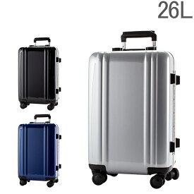 """【5%還元】【あす楽】ゼロハリバートン Zero Halliburton スーツケース 26L ポリカーボネート ZRL Collection 20"""" Carry-On 4-Wheel Spinner ZRF219 フレーム 4輪 旅行 出張"""
