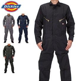 【5%還元】【あす楽】ディッキーズ Dickies デラックスカバーオール 48799 つなぎ 長袖 メンズ 作業着 大きいサイズ Long Sleeve Deluxe Blended Coverall MENS