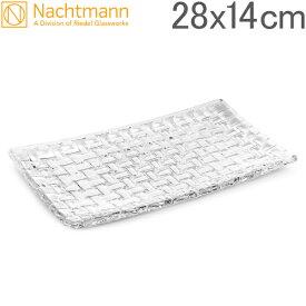 【全品あす楽】Nachtmann ナハトマン ダンシングスター ボサノバ 81399 レクタングラープレート 28cmx14cm