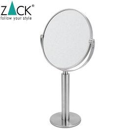 【5%還元】【あす楽】ザック ZACK スタンディングミラー FELICE 40114 Kosmetikspiegel Stainless 化粧鏡 ミラー 鏡 インテリア ステンレス