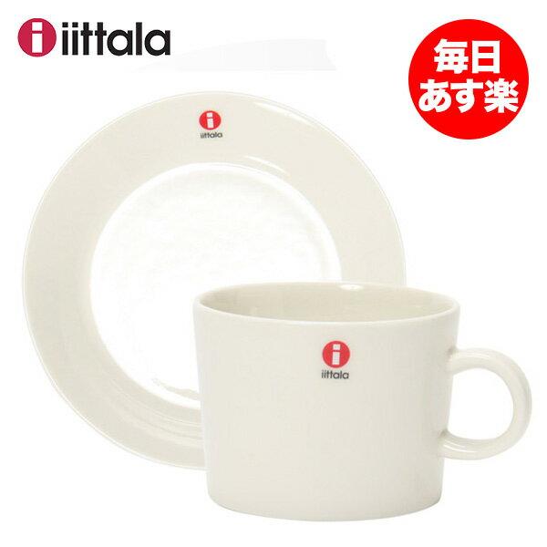 【北欧ブランド】 【iittala】 イッタラ ティーマ カップ&ソーサーセット TEEMA 220mL Cup & 15cm Saucer Set ホワイト