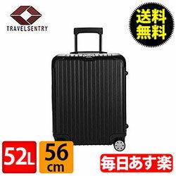 RIMOWA リモワ サルサ 834.56 83456 キャビンマルチホイール 4輪 スーツケース ブラック CABIN MULTIWHEEL 52L (810.56.32.4)