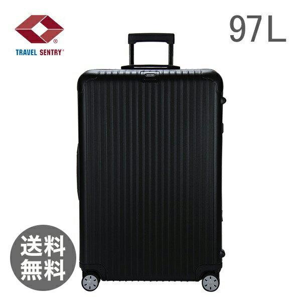 RIMOWA リモワ サルサ 834.77 83477 マルチホイール 4輪 スーツケース ブラック MULTIWHEEL 97L (810.77.32.4)