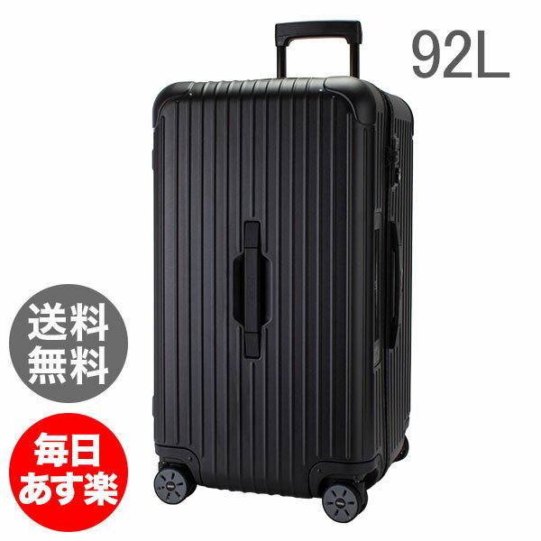 【E-Tag】 電子タグ RIMOWA リモワ サルサ 811.75.32.5 スポーツ マルチホイール 4輪 スーツケース ブラック Sport Multiwheel 92L