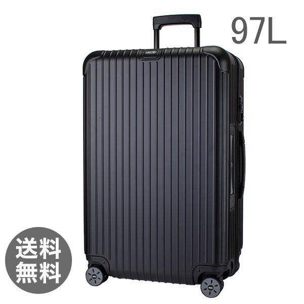 【E-Tag】 電子タグ RIMOWA リモワ サルサ 811.77.32.5 マルチホイール 4輪 スーツケース ブラック MULTIWHEEL 97L