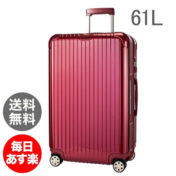 【E-Tag】 電子タグ RIMOWA リモワ 【4輪】 サルサ デラックス 831.63.53.5 スーツケース マルチ Salsa Deluxe Multiwheel Orient Red オリエント レッド 61L
