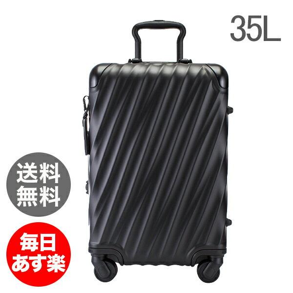 【全品5%OFFクーポン】トゥミ TUMI スーツケース 35L 4輪 19 Degree Aluminum コンチネンタル・キャリーオン 036861MD2 マットブラック キャリーケース キャリーバッグ