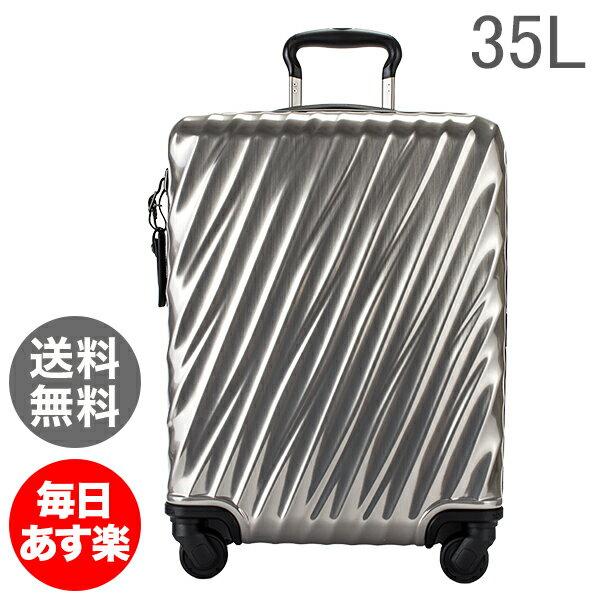 TUMI トゥミ スーツケース 35L インターナショナル・キャリーオン 0228660SLV2 シルバー 19 Degree