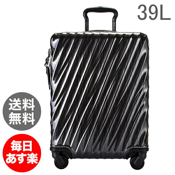 【全品5%OFFクーポン】TUMI トゥミ スーツケース 39L コンチネンタル・キャリーオン 0228661D ブラック