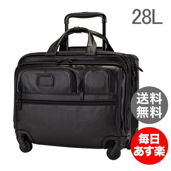トゥミ Tumi キャリケース キャリーバッグ 28L 4輪 4ウィール・デラックス・ブリーフ 096627D2 ブラック ALPHA 2 4 Wheel Deluxe Brief with Laptop Case Black