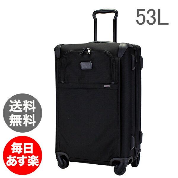 トゥミ Tumi スーツケース 53L ソフト キャリケース 4輪 022364D2 ブラック Alpha 2 Lightweight Short Trip 4 Wheel Packing Case Black キャリーバッグ