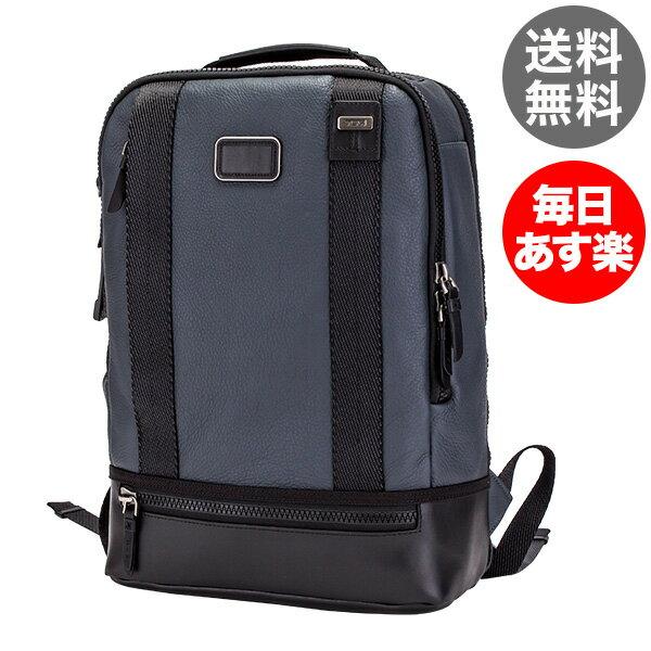 トゥミ Tumi ドーバー バックパック リュック レザー 92682DSK2 ダスクブルー Alpha Bravo Dover Backpack メンズ A4サイズ ビジネス バッグ デイパック
