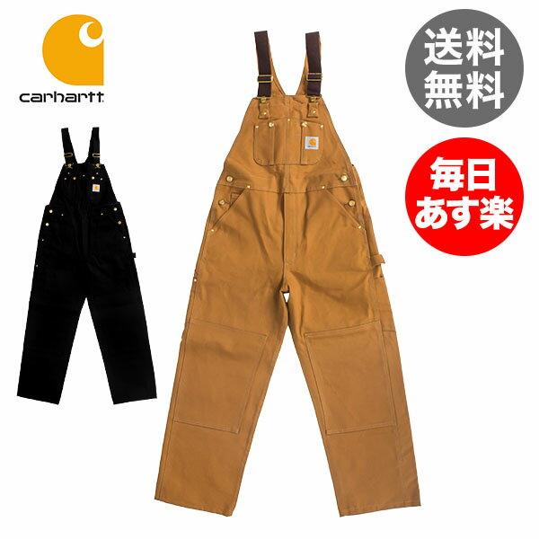 カーハート Carhartt ダック ビブ オーバーオール R01 股下 (約76cm) コットン つなぎ メンズ Duck Bib Overall - Men's サロペット 作業服