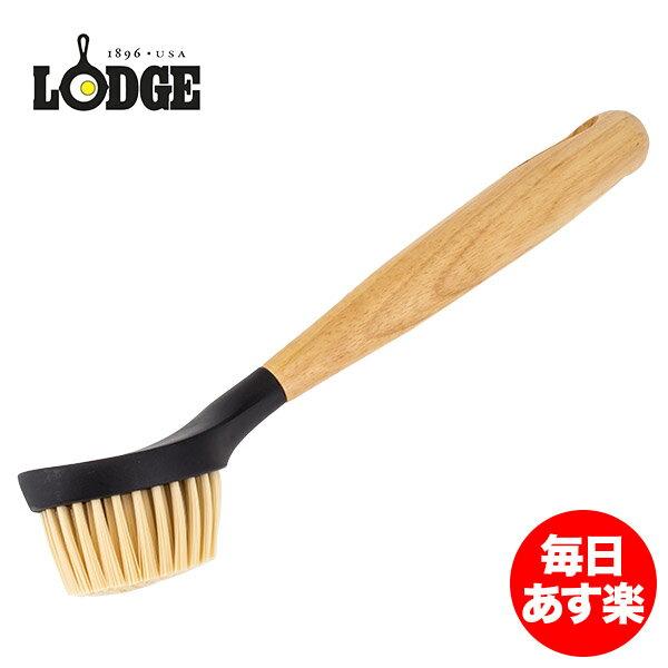 ロッジ Lodge スクラブブラシ 柄付き キッチンブラシ SCRBRSH cleaning and care 10 Inch Scrub Brush 鉄製 鍋 フライパン 長持ち 丈夫 丸型ヘッド 新生活