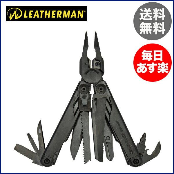 レザーマン Leatherman SURGE サージ マルチプライヤー レザーケース付き PREMIUM SHEATH ナイフ アウトドア 携帯工具