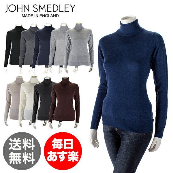 ジョンスメドレー John Smedley タートルネック セーター キャトキン WOMEN Catkin レディース メリノウール 長袖