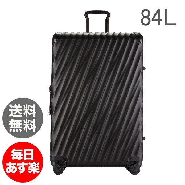 トゥミ Tumi スーツケース 84L 4輪 19 DEGREE ALUMINUM エクステンデッド・トリップ・パッキングケース 36869MD2 マットブラック キャリーケース キャリーバッグ