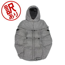 【訳あり】 国内検針済 セブンエイエムアンファン 7 AM Enfant ベビーカー 防寒カバー 抱っこ紐 兼用 防寒ケープ 2way フットマフ プーキーポンチョ PP200 Pookie Poncho