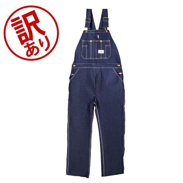 【訳あり】 ラウンドハウス Round House #966 ブルー デニム オーバーオール W38 クラシックブルー メンズ Men Blue Denim Bib Overalls Classic Blue ビブ 正規販売店