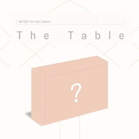 【KIHNO KiT Album】NU'EST THE TABLE 7th MINI ALBUM ニュイスト 7集 ミニ アルバム AIR KIT【宅配便】