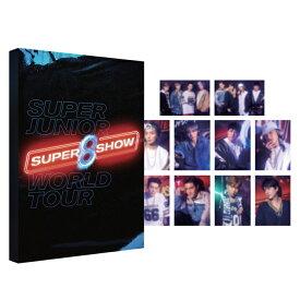 【SUPER SHOW 8 公式グッズ】SUPER JUNIOR POSTCARD BOOK ポストカード スーパージュニア 公式 グッズ / レビュー生写真5枚 / 宅配便