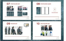 [The Starry Night with Cassiopeia] TVXQ MINI POSTER SET 東方神起 ポスター 公式グッズ 【レビューで生写真5枚|宅配便】