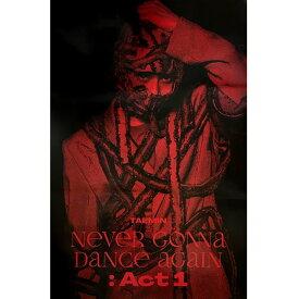 TAEMIN 3RD FULL ALBUM [NEVER GONNA DANCE AGAIN : ACT 1] POSTER 2