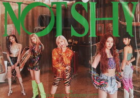 ITZY ALBUM NOT SHY OFFICIAL POSTER - PHOTO CONCEPT B