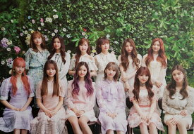 IZ*ONE 1ST CONCERT IN SEOUL EYES ON ME BLU-RAY OFFICIAL POSTER - PHOTO CONCEPT 1