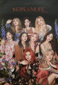 TWICE 9TH MINI ALBUM MORE AND MORE OFFICIAL POSTER - PHOTO CONCEPT 1