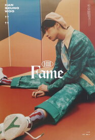 HAN SEUNG WOO 1ST MINI ALBUM FAME OFFICIAL POSTER - PHOTO CONCEPT WOO