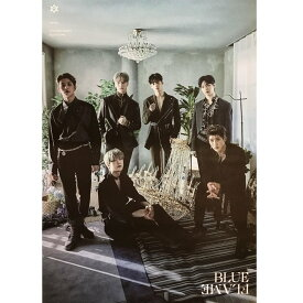 ASTRO 6TH MINI ALBUM [BLUE FLAME] (THE STORY VER.) POSTER ONLY