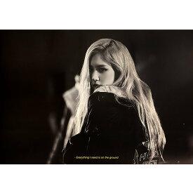ROSE 1ST SINGLE ALBUM [-R-] (VERSION A) POSTER