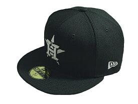 NEW ERA ニューエラMLB メジャーリーグ新作キャップ 帽子59FIFTY FITTED MLB BASICBLACK & WHITEHOUSTON ASTROSヒューストン アストロズBLACK WHITEブラックホワイト