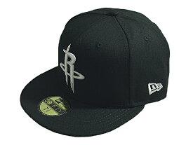 NEW ERA ニューエラNBA プロバスケットボール新作キャップ 帽子59FIFTY FITTED NBA STOCKBLACK & WHITEHOUSTON ROCKETSヒューストン ロケッツBLACK WHITEブラックホワイト