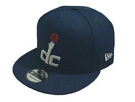 NEW ERA ニューエラNBA プロバスケットボール新作スナップバックキャップ 帽子9FIFTY NBA BASICWASHINGTON WIZARDSワシントン ウィザーズNAVY ネイビー