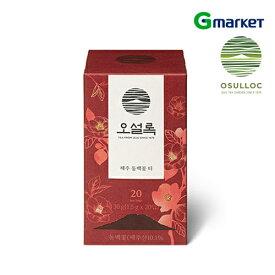 【Osulloc】【オソロック】済州(チェジュ)ツバキ花茶/20個入り/ツバキティ/済州/ツバキ花/韓国【楽天海外通販】
